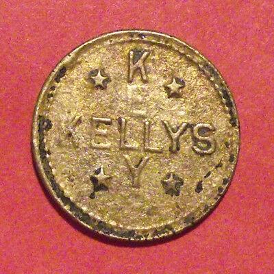OREGON TRADE TOKEN - KELLY'S OLYMPIAN CO., PORTLAND, OR TOKEN (LOT D236) R2](Portland Trading Co)