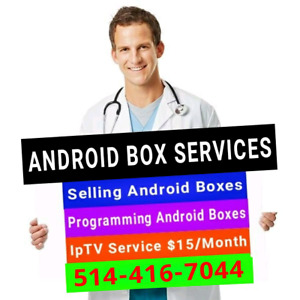Android Boxes - Selling / Programming / IPTV Repair update