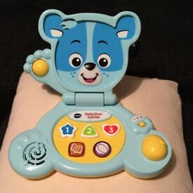 Vtech bear baby laptop