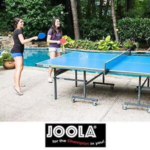 NEW* JOOLA OUTDOOR TENNIS TABLE - 121306194 - ALL WEATHER FOLDABLE PORTABLE PING PONG PADDLE PADDLES TEAM SPORTS TABL...