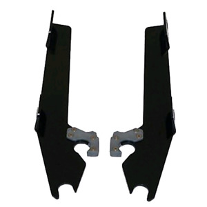 Memphis shades batwing brackets (wide glide)