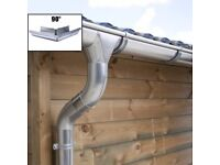 Zinc guttering kit for hipped roof | Available in galvanised, titanium zinc and anthracite