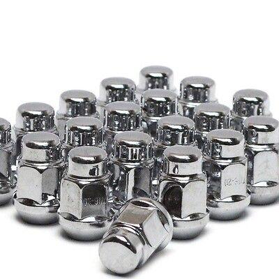(Premium CHEVROLET CORVETTE RIM WHEEL CHROME LUG NUTS 12x1.50 -set of the 20 Lugs)