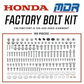 Hardware bolts kit for cr125 cr250 crf250 crf450 2000-2018