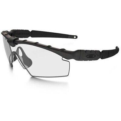 New Oakley Z87 SI Ballistic M Frame 2.0 Strike Black Clear/Grey Authentic/ Army