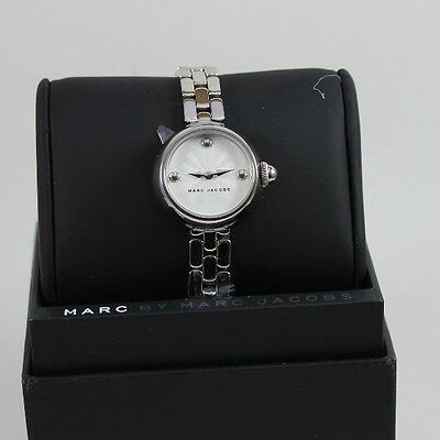 NEW AUTHENTIC MARC BY MARC JACOBS COURTNEY SILVER WOMEN'S LADIES MJ3456 WATCH