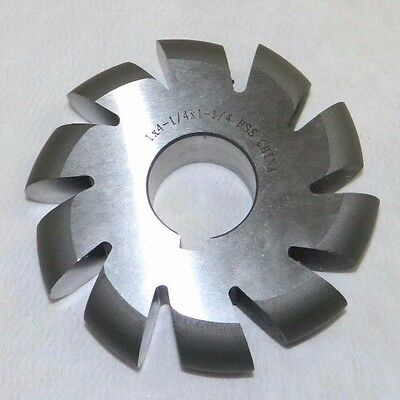Hss Convex Milling Cutter 1 X 4-14 X 1-14 03170651