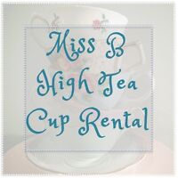 Kids Tea Party Cup Rental