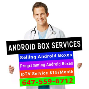 2018 ANDROID BOXES  TOP MODELS  ( NO MONTHLY FEE )