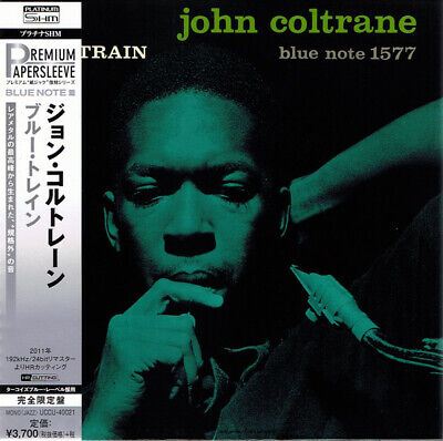 JOHN COLTRANE, BLUE TRAIN, LTD ED PLATINUM SHM-CD, JAPAN 2016, UCCU-40221 (NEW)