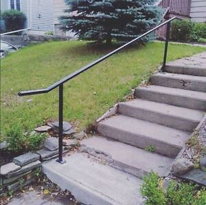 Custom Steel Handrail in the front of your home Kitchener / Waterloo Kitchener Area image 3