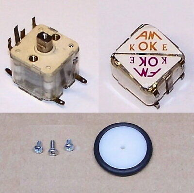 Tested Am Fm 4 Section Pv Tuning Variable Capacitor Transistor Radio Cap W Knob