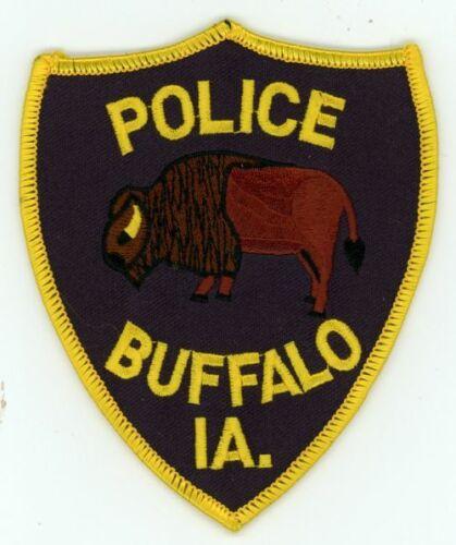 IOWA IA BUFFALO POLICE NEW SHOULDER PATCH SHERIFF