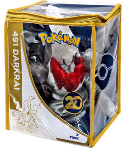 Darkrai pokemon 20th anniversary plush