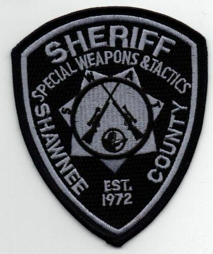 KANSAS KS SHAWNEE COUNTY SHERIFF SWAT SUBDUED NEW PATCH POLICE