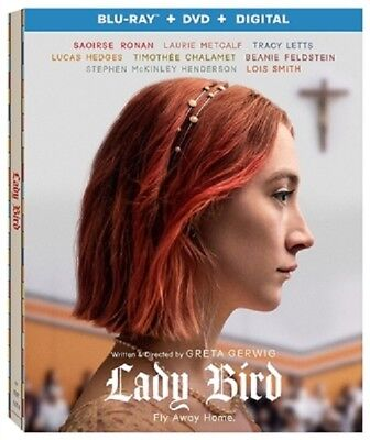 Lady Bird 02/18 (used) Blu-ray Only Disc Please Read
