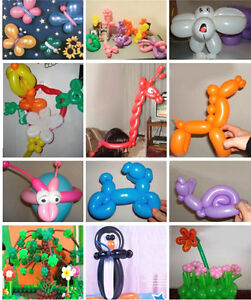 50 x Ballons Longs Latex Animaux Anniversaire Party Couleurs GGG