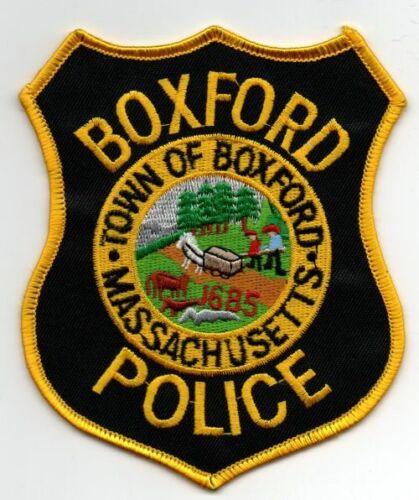 MASSACHUSETTS MA BOXFORD POLICE NICE PATCH SHERIFF