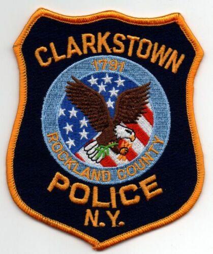 NEW YORK CLARKSTOWN POLICE NICE PATCH SHERIFF