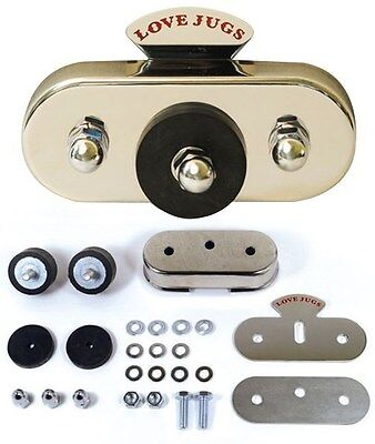 Love Jugs Vibration Master Mounting Kit For all Love Jugs Engine Cooling Systems