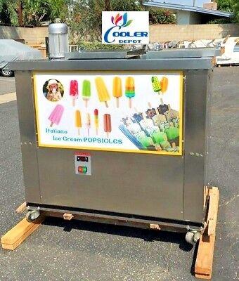 New Popsicle Maker Machineice Cream Mold Freezermodel Bpz-04 Paletas Paletero