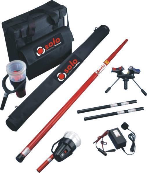 Solo fire alarm testing kit.£420ono