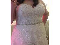 Sophia Tolli wedding dress size 16/18, £450 worn once :p