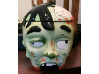 Zombie head cookie jar (new)