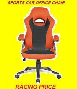 RACECAR -STYLE OFFICE CHAIR RED BLACK AND YELLOW $149.99 ONLY Oakville / Halton Region Toronto (GTA) image 2