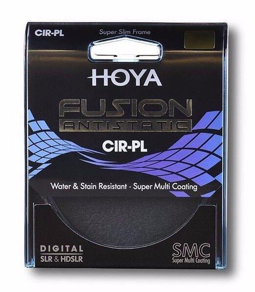 HOYA FUSION 72mm CIRCULAR POLARIZER FILTER - ANTISTATIC FILTER & BONUS 16GB USB