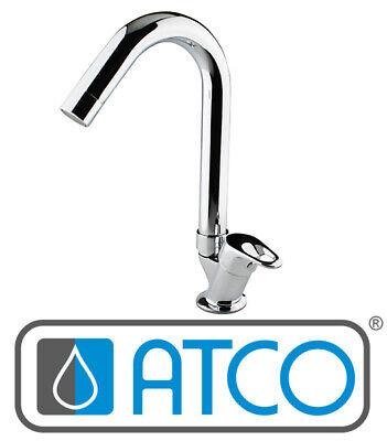 ATCO® SIENA Kaltwasser Armatur Bad Standventil Waschtischarmatur Gäste WC chrom