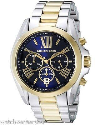 Michael Kors Women's MK5976 Bradshaw Two-Tone Stainless Steel Watch