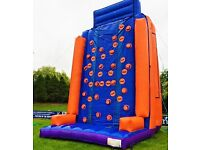 Inflatable Climbing Wall Hire 35 feet in brilliant condition.