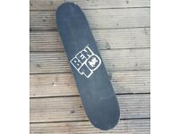 Black Skateboard (with Ben 10 back) For Sale