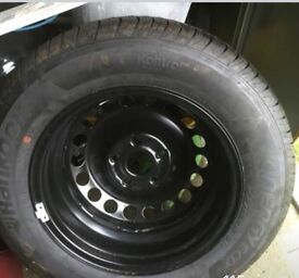 VW CADDY SPARE WHEEL/TYRE