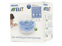 Brand new Philip microwave baby bottle steriliser