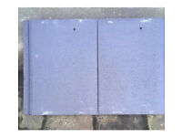 320 x Marley Modern Smooth Grey Concrete Roof Tiles 300 x 400mm. London.