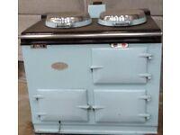 Baby Blue 2 oven LPG Aga