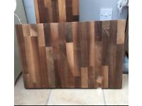 Solid wood 2 pieces