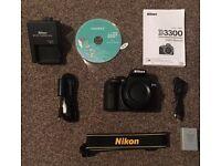 Nikon D3300 DSLR For Sale