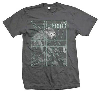 Monkey Rock (The Pixies Monkey Grid Punk Indie Alternative Rock Music Band T Shirt PIX70031 )