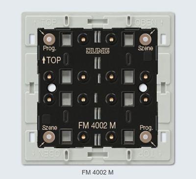 Jung FM4002M eNet Funk-Wandsender-Modul 2fach KNX Schalter Gira Siedle Berker