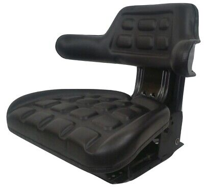Ford 3000 3600 3610 3900 3910 Black Universal Tractor Suspension Seat Iap