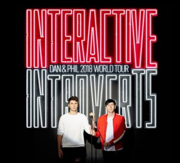 WANTED: Dan and Phil Interactive Introvert VIP ticket (brisbane)