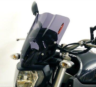Yamaha FZ-09 MT09 14 16 Light Screen Shield Windshield 330mm Gray Powerbronze