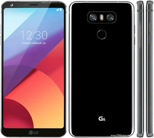 UNLOCKED LG G6 32GB BLACK.  USE WITH ANY CARRIER