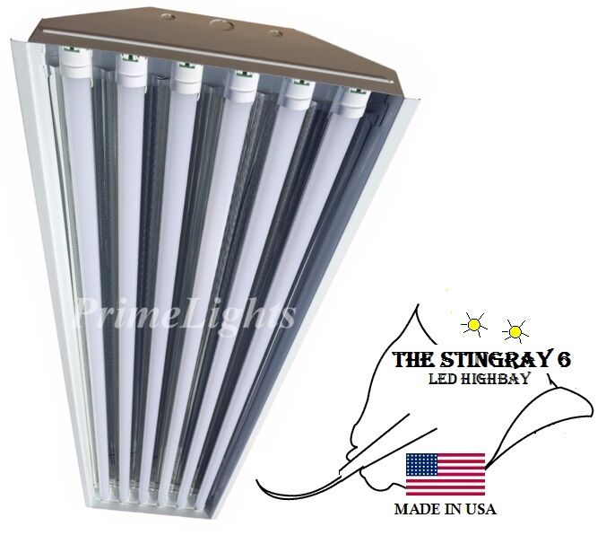 LED High Bay Light - 132W Warehouse, Shop, Commercial STINGRAY 6 XL Fixture NEW