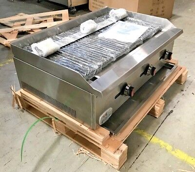 New Radiant Char Broiler Gas Grill 36 90000 Btu