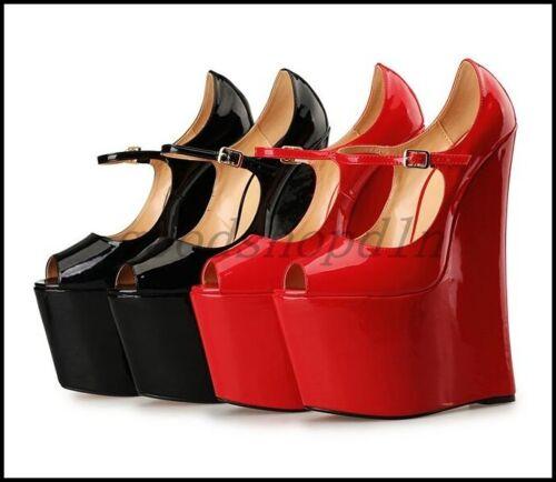 WOmen/'s High Heels Stilettos Platform Roma Strappy Open Toe Sandals zip US4.5-13