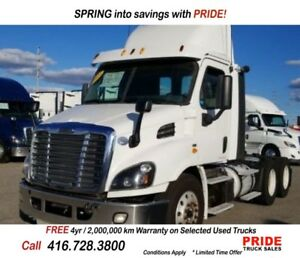 2014 Freightliner DAY CAB *4 YEARS / 2 MILLION KM WARRANTY AVAIL
